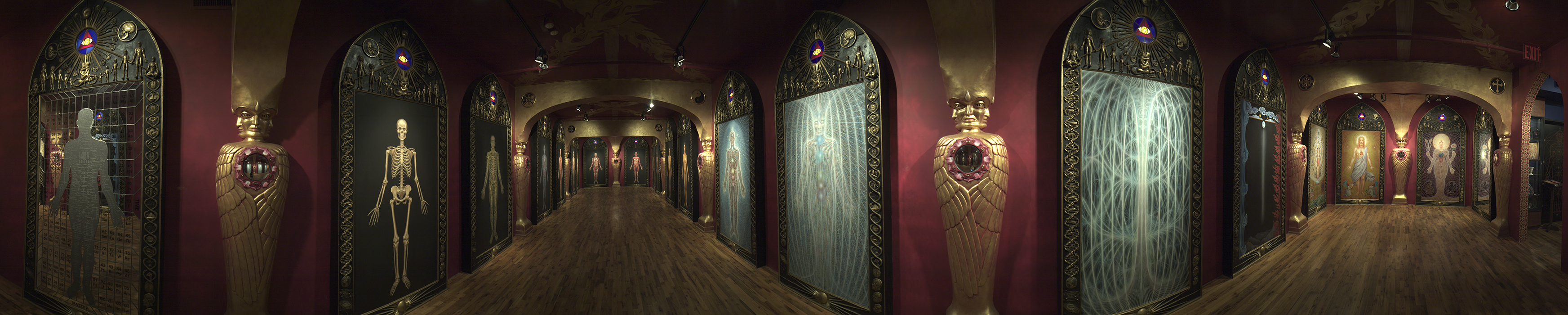 Sacred Mirrors - 360 Degree View