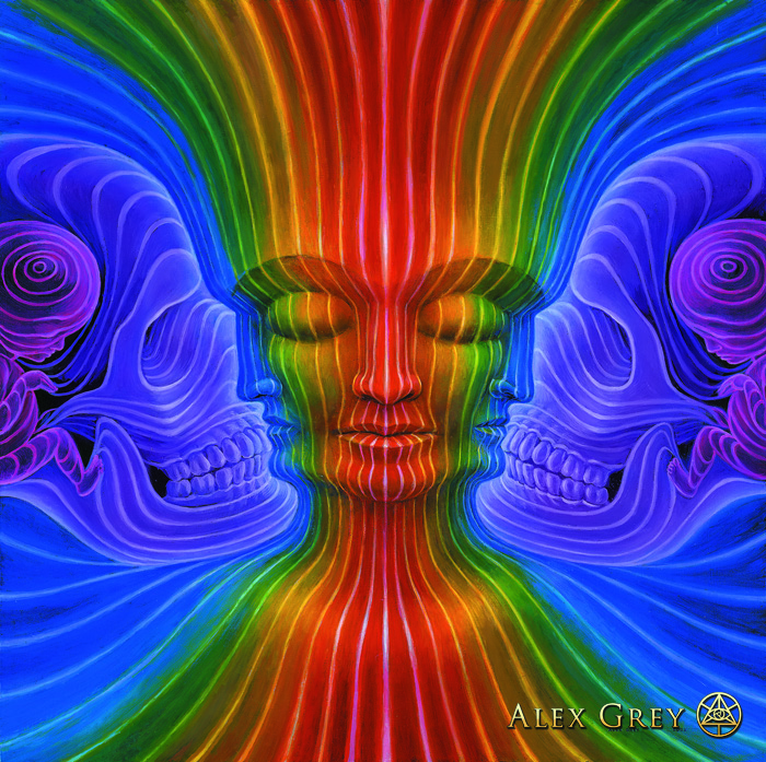 """Interbeing"" di Alex Grey (credit: www.alexgrey.com)"