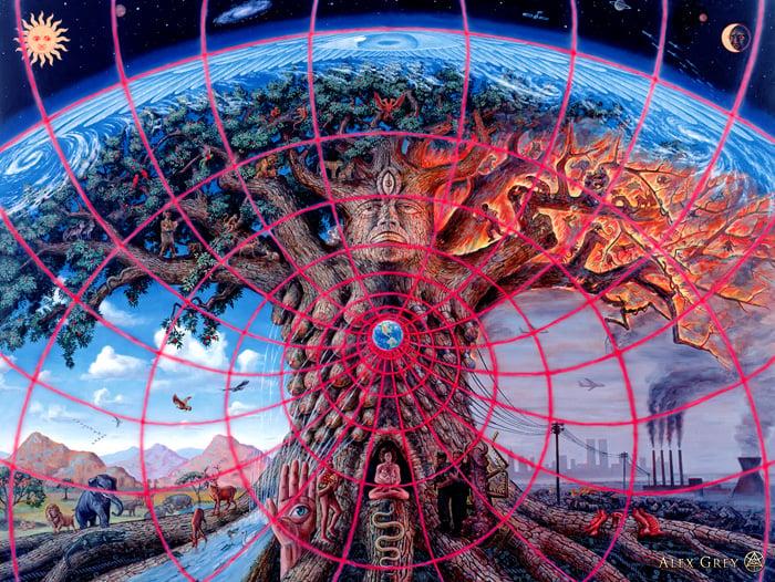 Gaia | Alex Grey