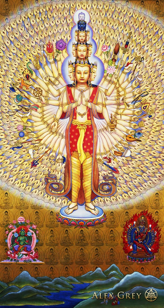Avalokitesvara Alex Grey