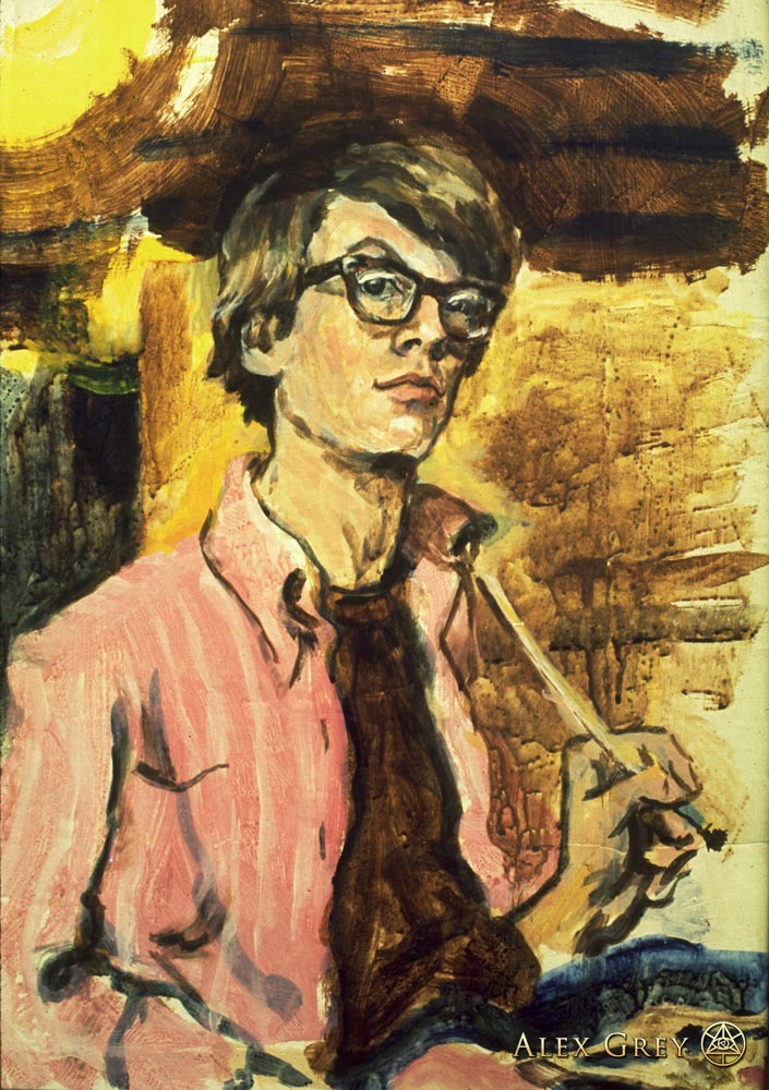 Self-Portrait - age 15