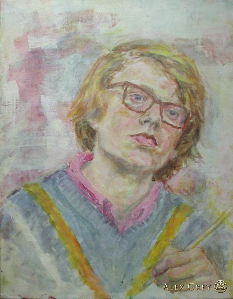 Self-Portrait - Age 16