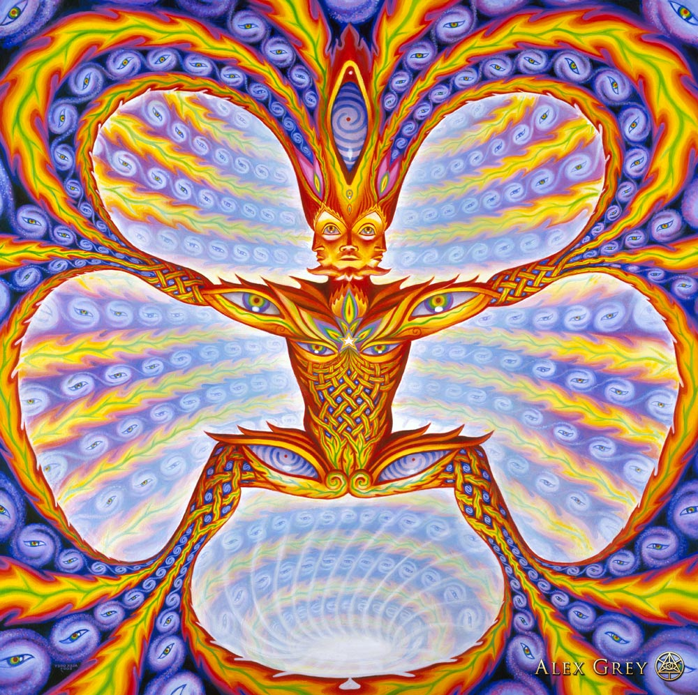 Cosmic Elf  Alex Grey