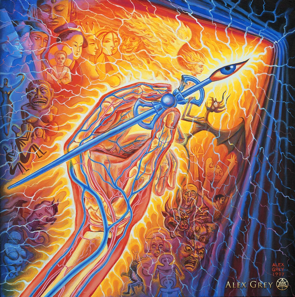 Alex Grey in Huffington Post