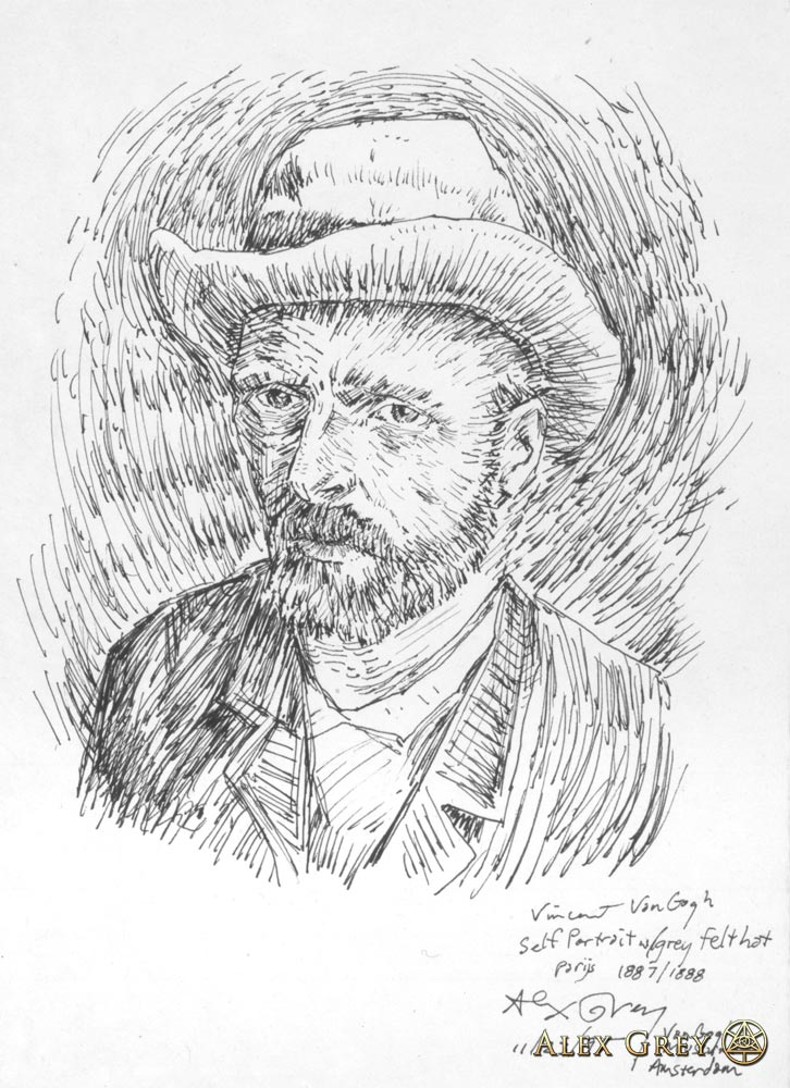 Study of Van Gogh Self-Portrait