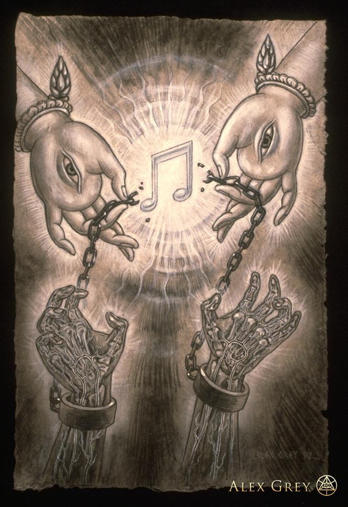 Raves Near Me >> Music of Liberation - Alex Grey