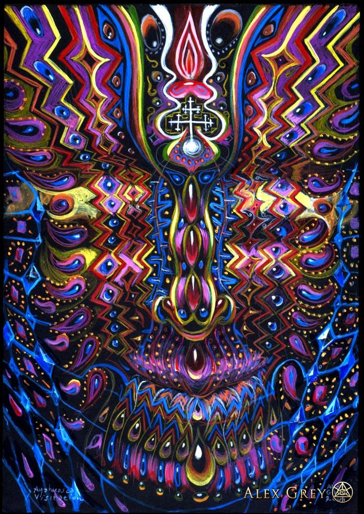 Raves Near Me >> Ayahuasca Visitation - Alex Grey