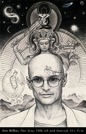 For Ken Wilber - An Artist's Spiritual Friend