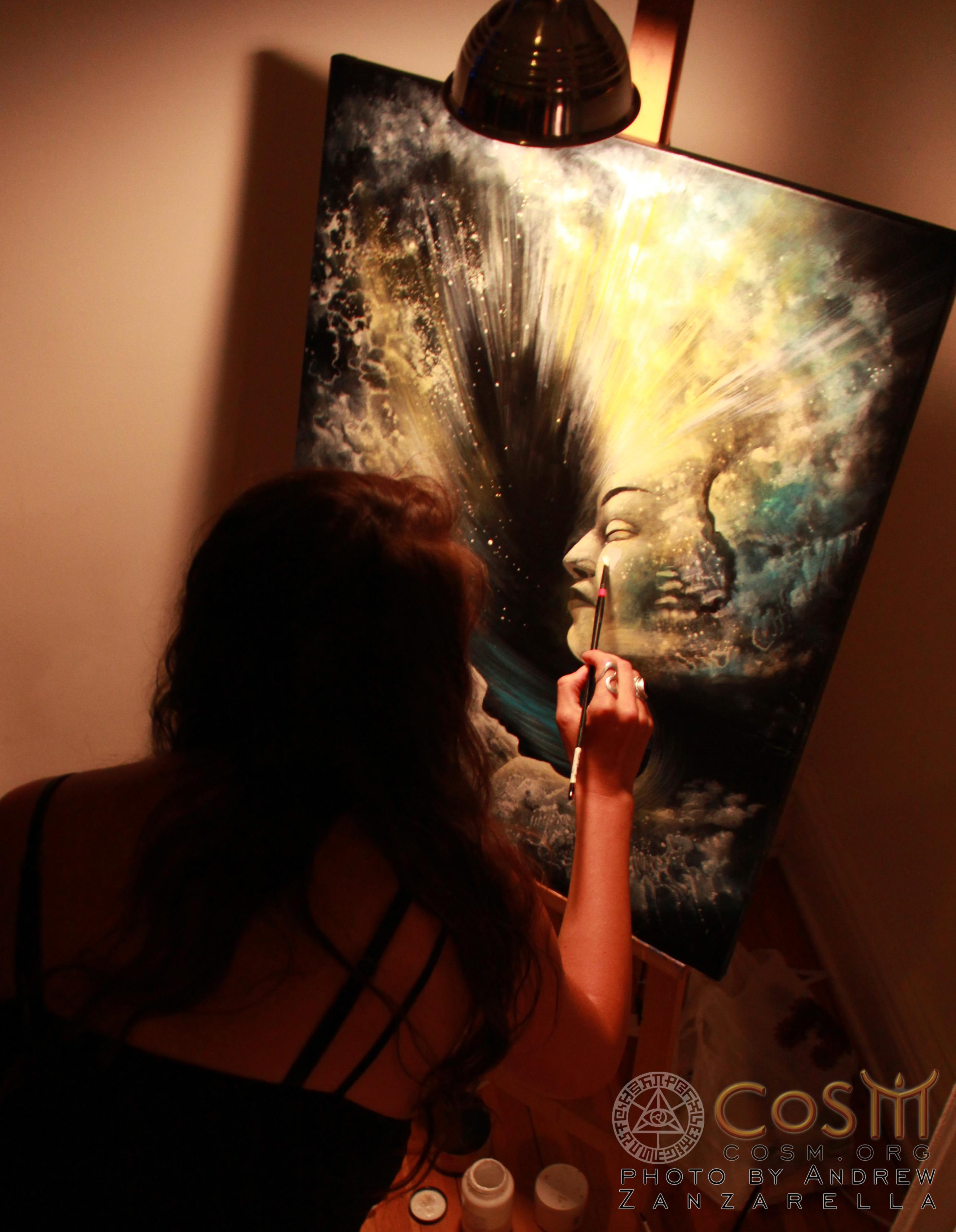olga live painting copy
