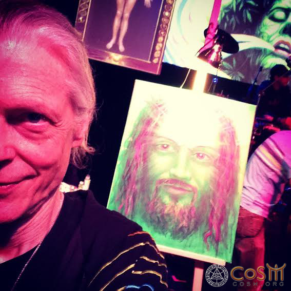 alex grey with green jesus