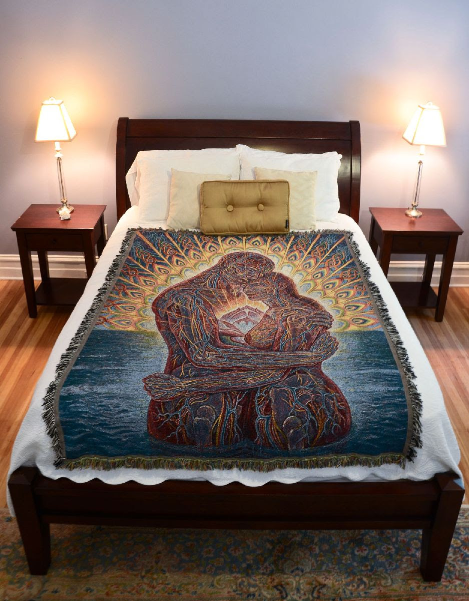 ocean of love bliss  blanket cosm