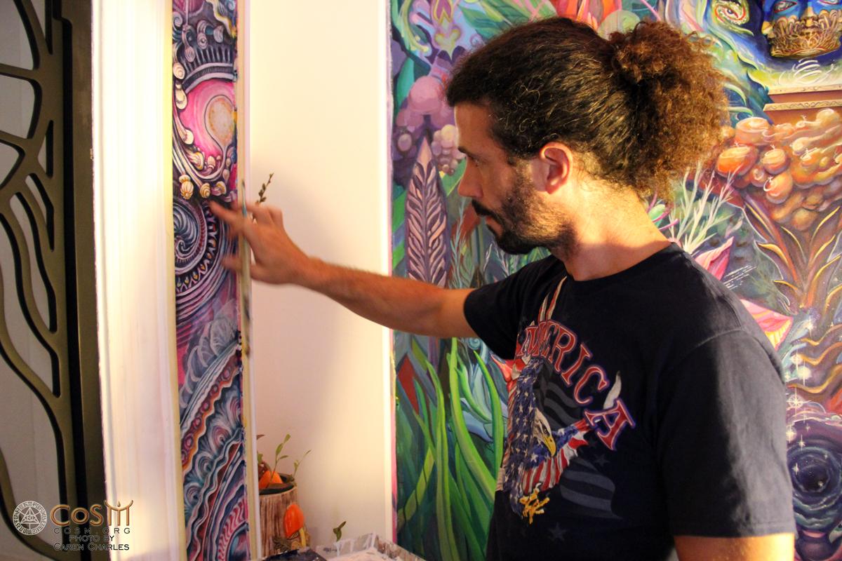 randal-roberts-painting-mushroom-cafe-cosm