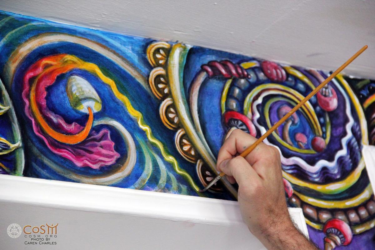 randal-roberts-painting-mushroom-cafe-cosm-detail