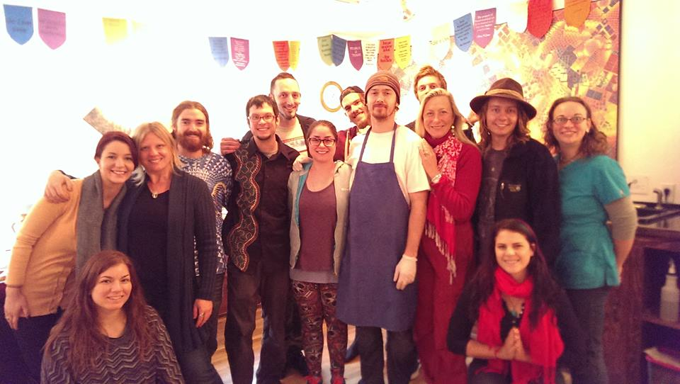 permaculture class cosm dining room chefs