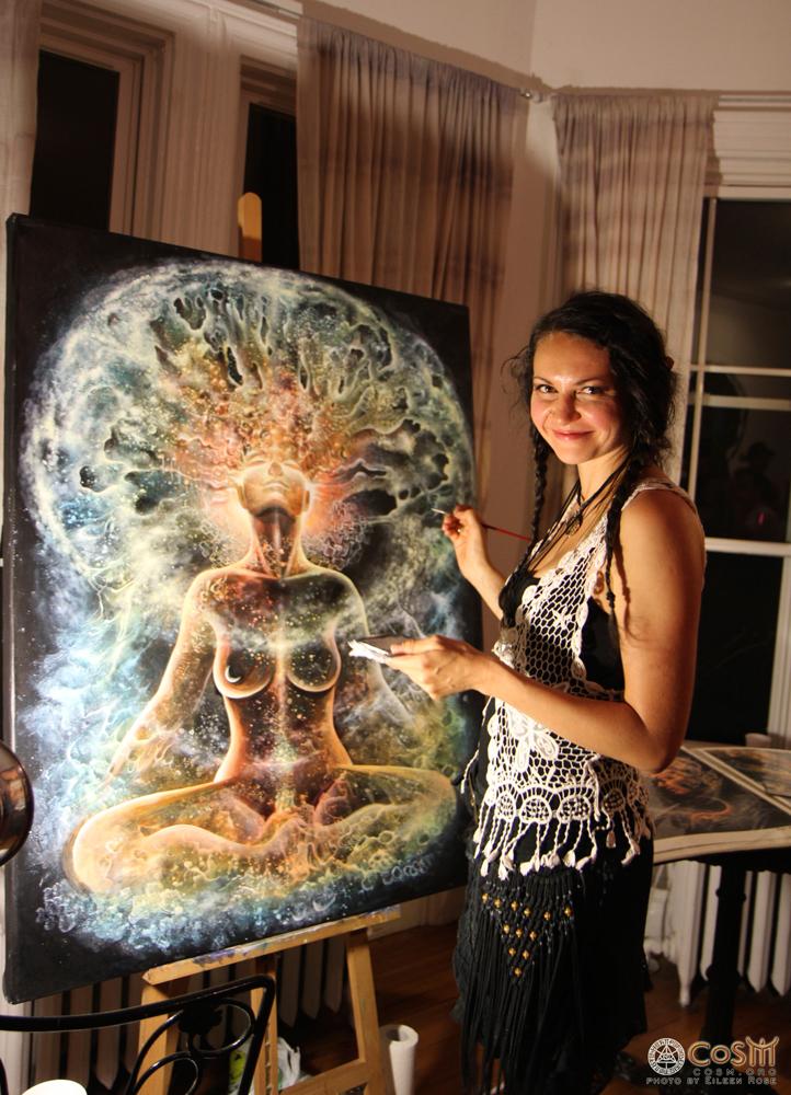 olga-klimova-live-painting-cosm-autumnal-equinox-2014