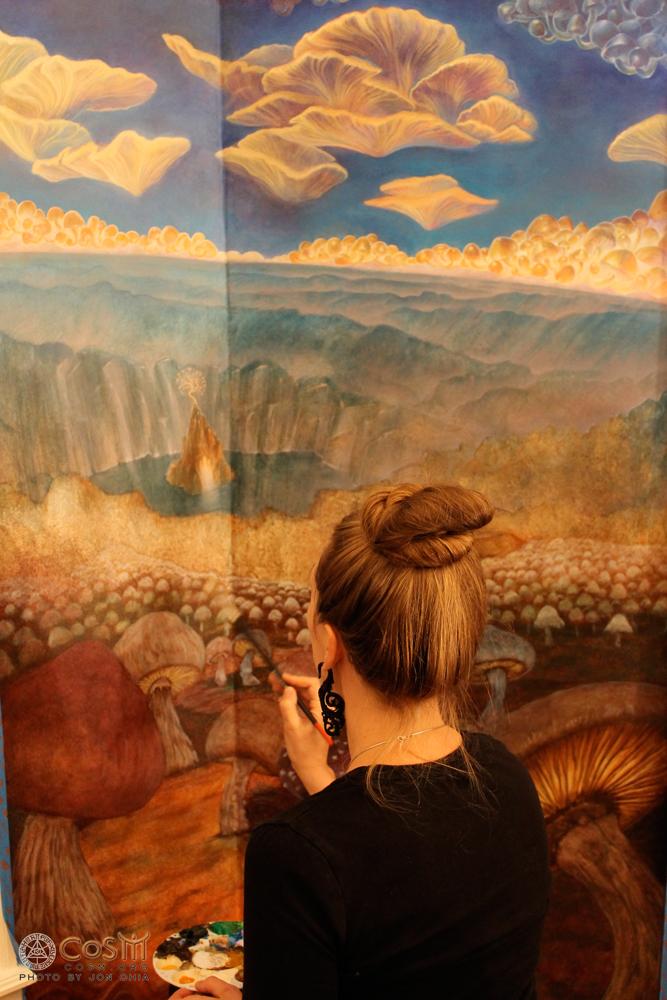 aloria-weaver-painting-mushroom-cafe-cosm