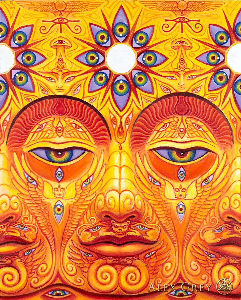 Raves Near Me >> Sunyata - Alex Grey