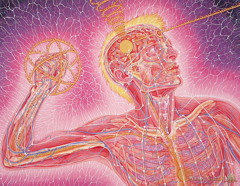 Raves Near Me >> Empowerment - Alex Grey