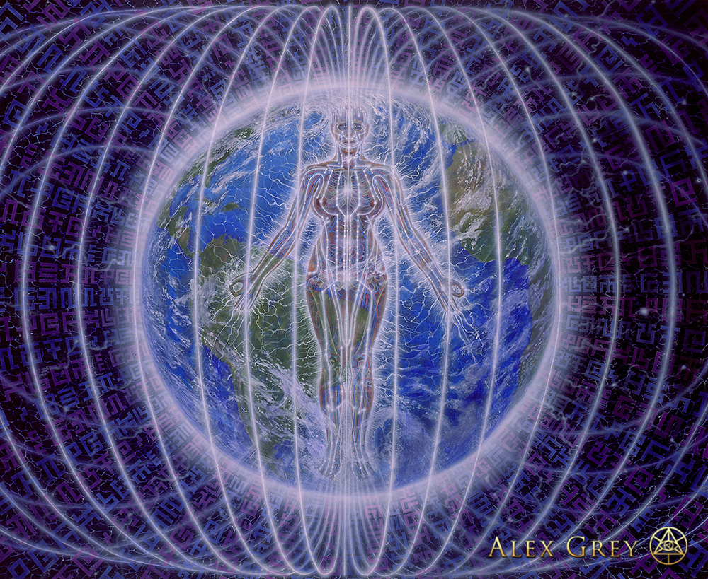 Raves Near Me >> Person Planet - Alex Grey