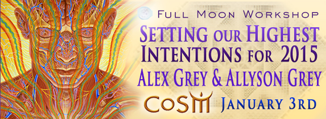 setting our highest intentions for 2015 the new year alex grey allyson grey cosm full moon workshop