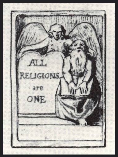 all religions are one