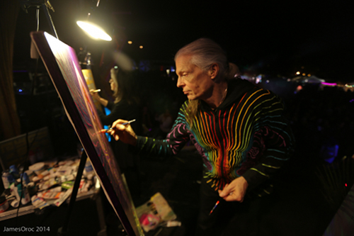 alex grey allyson grey live painting
