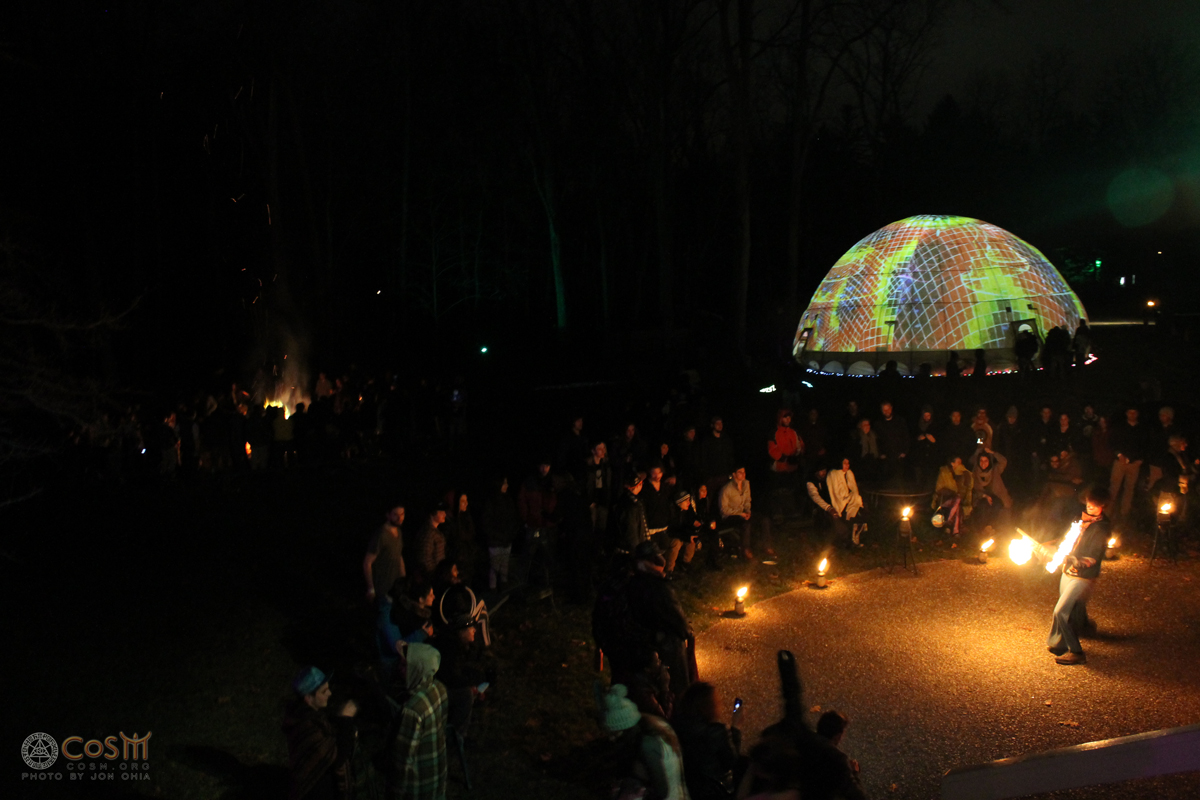 fire-performances-bonfire-pufferdome-cosm-winter-solstice-celestial-celebration-2014