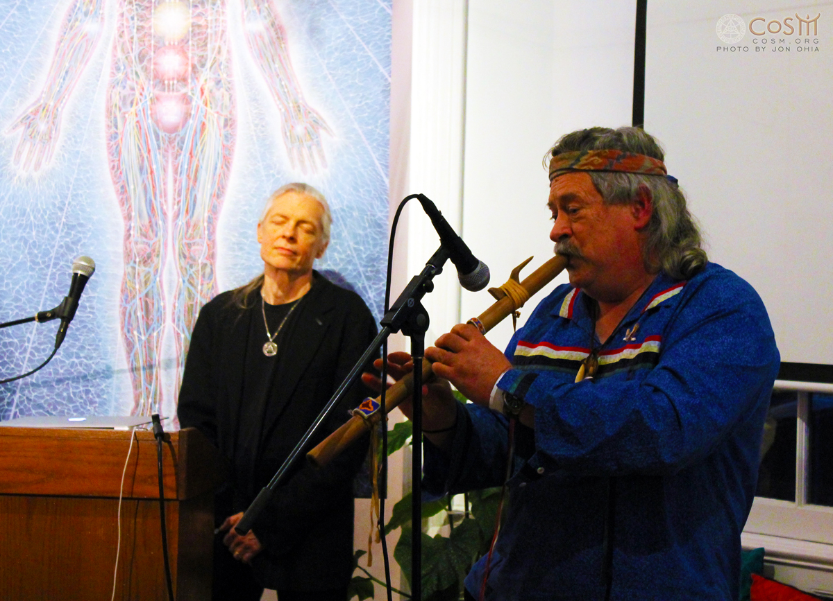 evan-pritchard-wappinger-native-flute-cosm-winter-solstice-ceremony-alex-grey