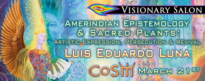 luis eduardo luna at cosm chapel of sacred mirrors