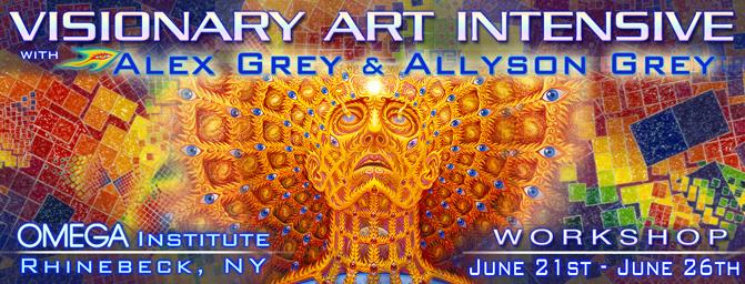 visionary art intensive omega alex grey allyson grey