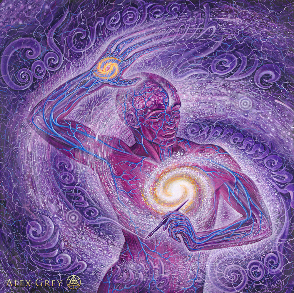 alex grey cosmic artist
