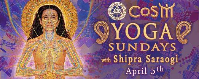 yoga sundays at cosm