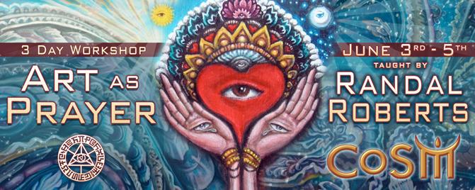 art as prayer randal roberts cosm