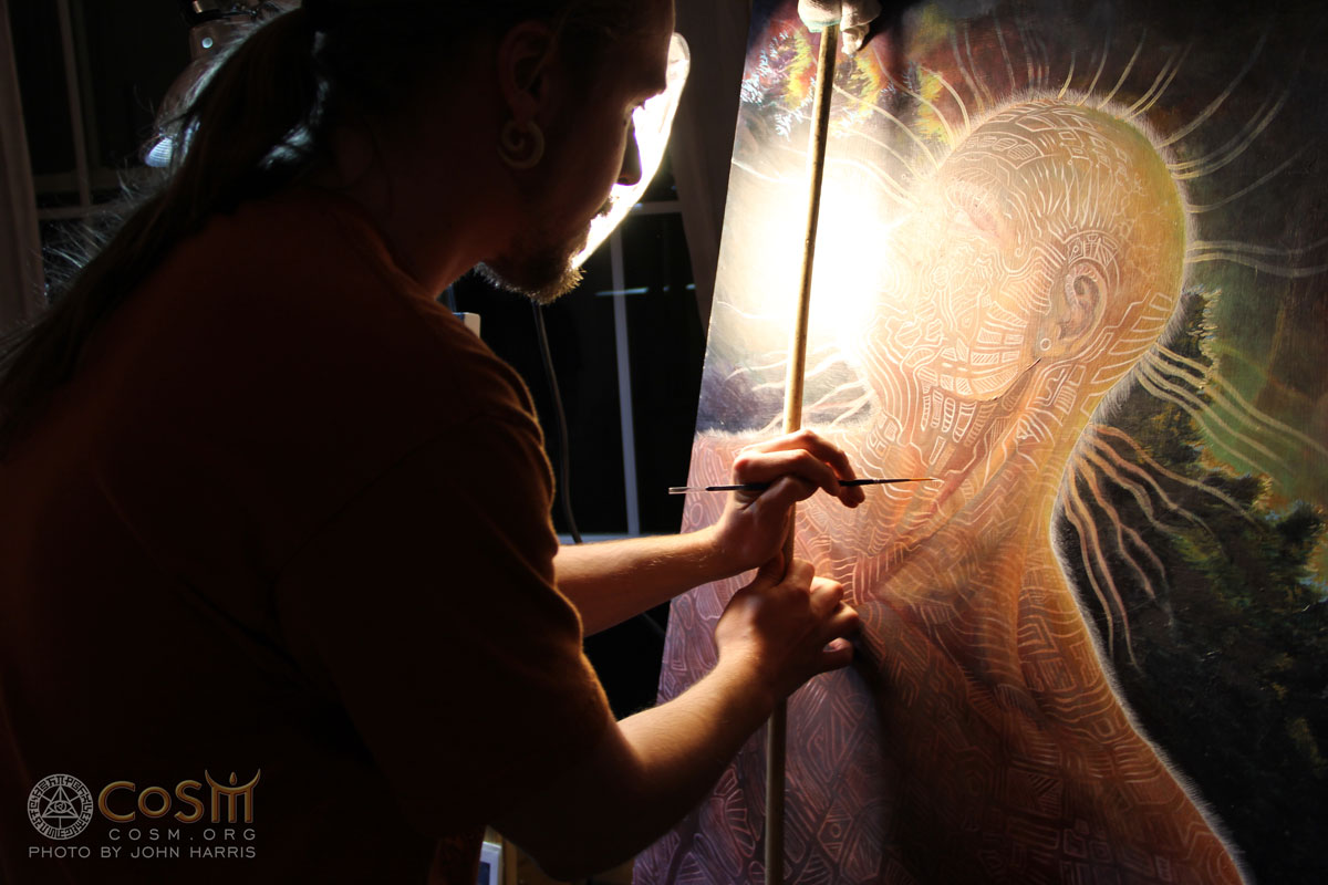 douglas-lakota-live-painting-cosm-may-full-moon-gathering-2015