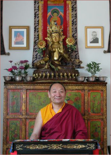 Workshop Instructor Lama Migmar Tseten