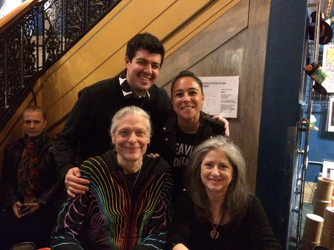 at the warfield for bicycle day alex grey allyson grey