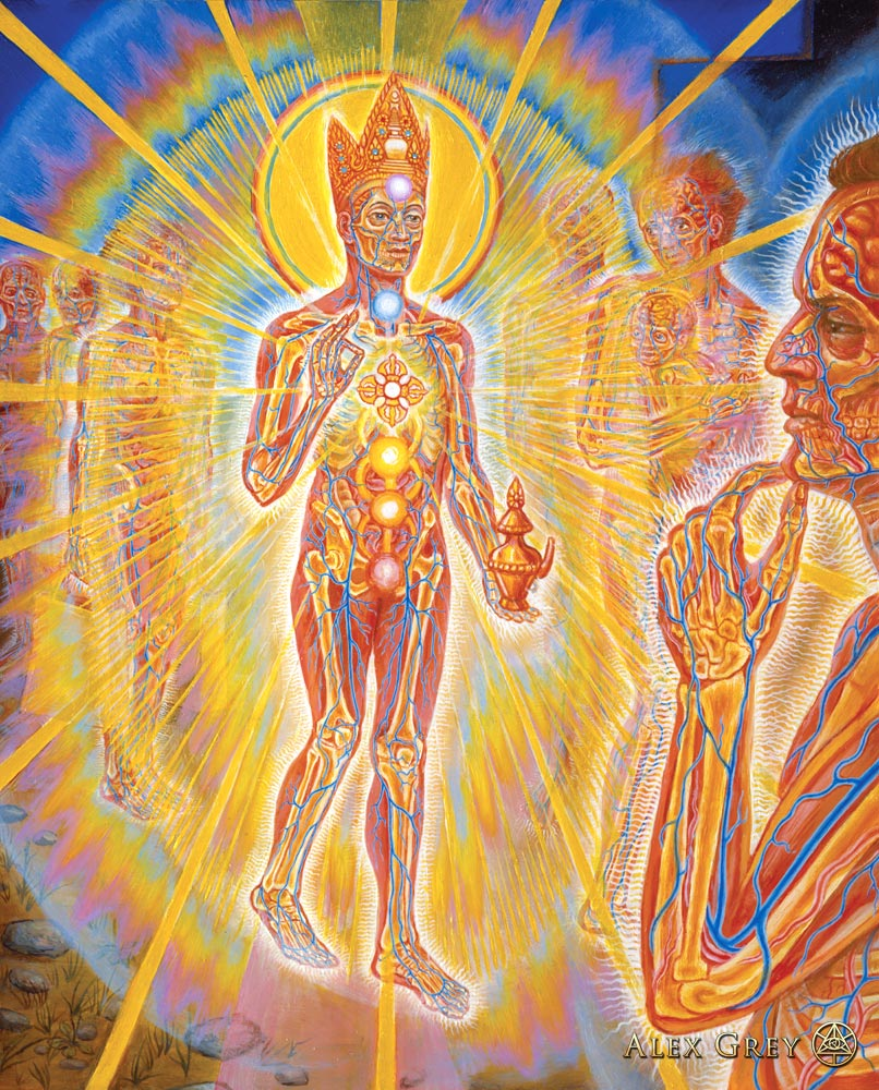 Nature of Mind Panel 7 by Alex Grey