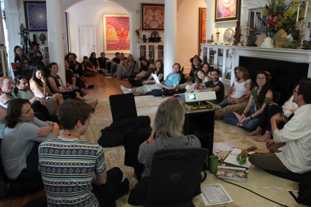 delvin solkinson visionary permaculture cosm library may full moon workshop