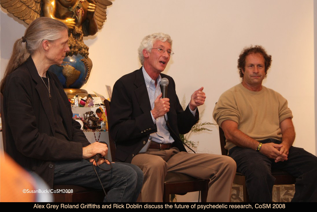 Rick Doblin on Science and Sacraments alex grey cosm