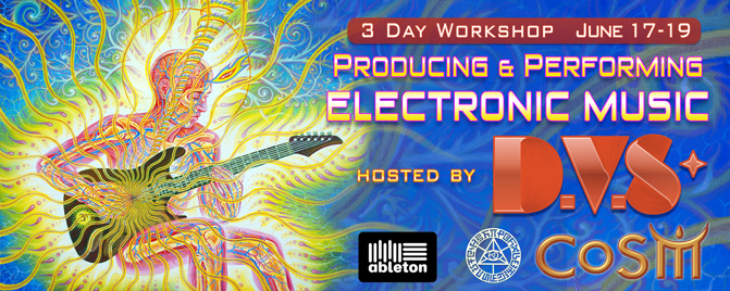 dvs cosm producing electronic music