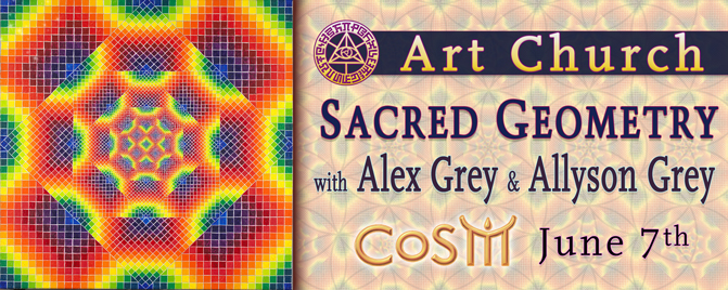 art church sacred geometry alex grey allyson grey